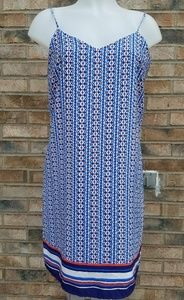 Blue Skies  mini slip dress Sz M